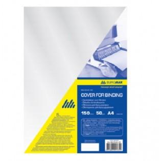 Купить Обложка для биндера А4, 150мкм (50шт/уп) пластик, прозрачная  BM.0540-00 по низким ценам