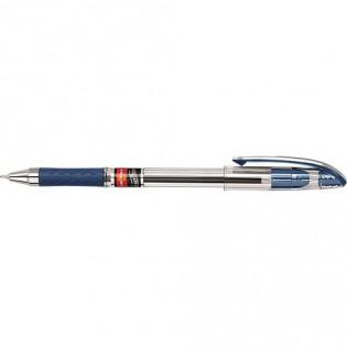 Купить Ручка масляная (0,7) синяя Maxflow UX-117-02 по низким ценам