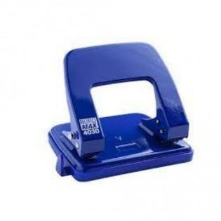 Купить Дырокол с линейкой (25л) метал. синий, BM.4030-02 по низким ценам