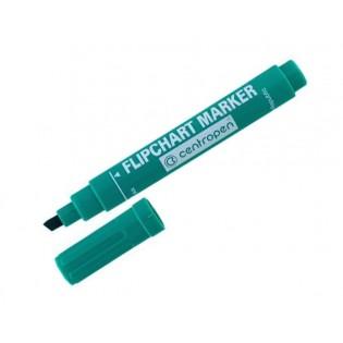 Купить Маркер для флипчартов (по бумаге) клиновидный (1-4,6мм)  зеленый 8560/04 по низким ценам