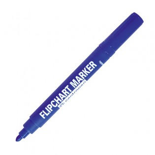 Купить Маркер для флипчартов (по бумаге) клиновидный (1-4,6мм)  синий 8560/03 по низким ценам