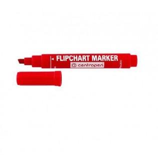 Купить Маркер для флипчартов (по бумаге) клиновидный (1-4,6мм)  красный 8560/02 по низким ценам