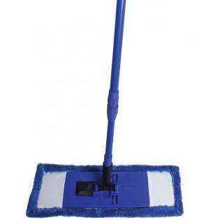 Купить Комплект для уборки ЕВРО МОП (130см) микрофибра (44см) телескопическая ручка KD-8113 по низким ценам