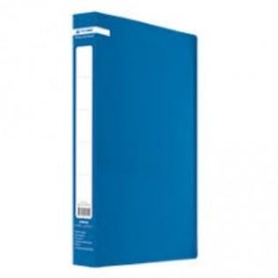 Купить Папка пласт. А4/60 с файлами синяя  BM.3621-02 по низким ценам