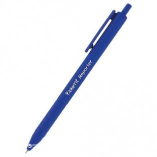 Купить Ручка масляная автомат. (0,7) синяя Reporter  Ax1065-02-a по низким ценам