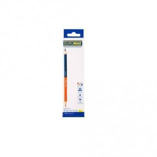 Купить Карандаш 3мм двусторонний, красно-синий BM.8578 по низким ценам