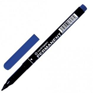 Купить Маркер перманент. круглый (1мм)  синий 2536  по низким ценам