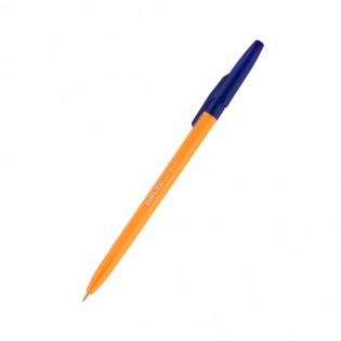 Купить Ручка шариковая (1,0) синяя, корпус оранжевый DB 2050-02 по низким ценам