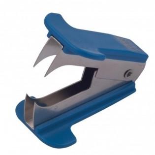 Купить Антистеплер BM.4490-02 синий с фиксацией зубцов в закрытом положении по низким ценам