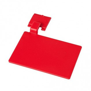 Купить Маркировочный значек для алюмин. рейки, цвет красный ХАССП по низким ценам