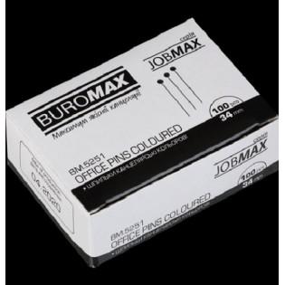 Купить Булавка-гвоздик (100шт) 34 мм JOBMAX BM.5251 по низким ценам