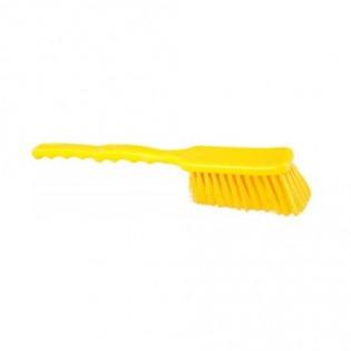 Купить Щетка с короткой рукояткой 270х47,полиэстер желтая 10203-4  по низким ценам
