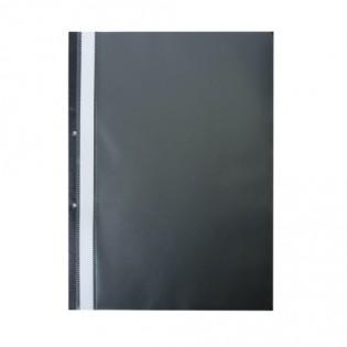 Купить Скоросшиватель А4 пластик.  с  перфорацией черный BM.3314-01 по низким ценам