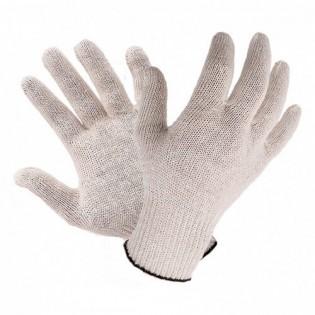 Купить Перчатки трикотажные без ПВХ  белые 7-й класс (7 нитей) 8700 по низким ценам