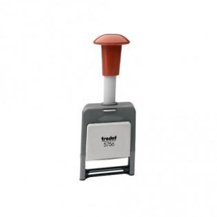 Купить Нумератор автоматический 6-ти разрядный пластмассовый 5,5 мм 5756/р/block по низким ценам