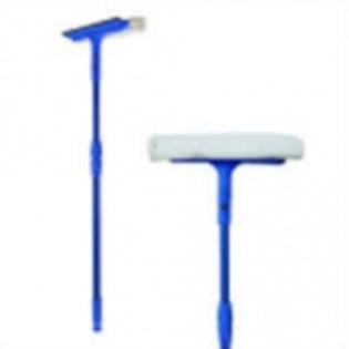 Купить Губка для мытья окон (21*58) телескопический кий (90см) SY09647 по низким ценам