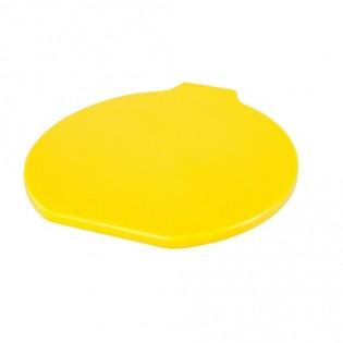 Купить Крышка пластик. для пищевого ведра (9л) желтая ХАССП по низким ценам