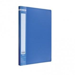 Купить Папка-cкоросшиватель А4 (CLIP А) пластик. синяя BM.3406-02 по низким ценам