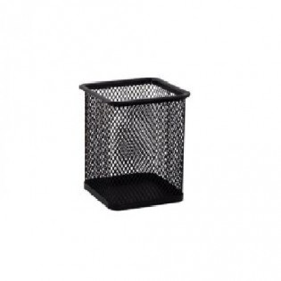 Купить Подставка-стакан для ручек, метал. квадрат черная BM.6201-01 по низким ценам