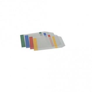 Купить Обложка А4, прозрачная с цветными полями 90мкм (5шт./уп.) ZB.4710-99 по низким ценам
