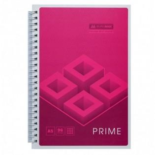 Купить Блокнот  А5 96л # м/о, боковая спираль розовый PRIME BM.24551101-10 по низким ценам