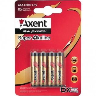 Купить Батарейка LR06 AXENT щелочная  пальчиковая 5556-AА по низким ценам