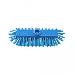 Купить Щетка-скраб 285х130 с подачей воды полиэстер синяя 49154-2  по низким ценам