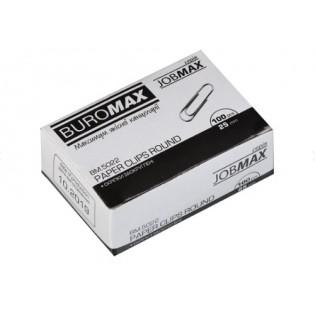 Купить Скрепки канцелярские 25мм (100шт) никелированные BM.5022 по низким ценам