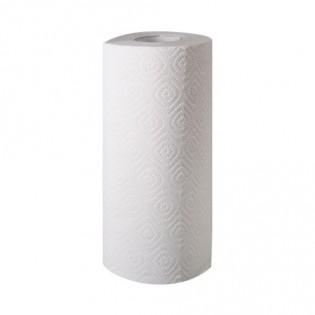 Купить Полотенца бумажные целлюлозные белые, рулон.(170мм*125мм/50м/d60мм)2-х слойн/400отр