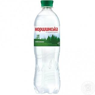 Купить Минеральная вода Моршинская слабо газированная пластиковая бутылка 750мл по низким ценам