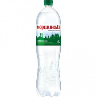 Купить Минеральная вода Моршинская слабо газированная пластиковая бутылка 1500мл по низким ценам
