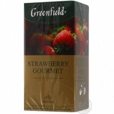 Купить Чай в ф/п с/я (25шт*1,5г) черный Strawberry Gourmet по низким ценам