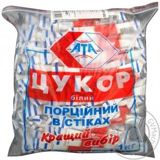 Купить Сахар белый порционный в стиках 5г*200шт по низким ценам