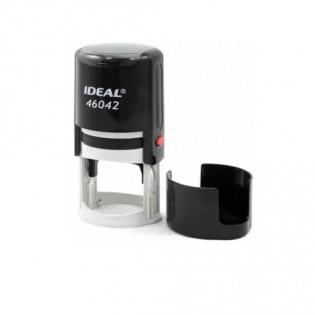 Купить Оснастка для круглой печати (42мм) черная Ideal 46042 по низким ценам