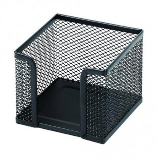 Купить Бокс для бумаги (90х90х90), метал. черный  KL0905 по низким ценам
