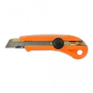 Купить Нож с фиксатором, усиленный, 18 мм  13-215 по низким ценам