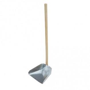 Купить Совок для мусора металлический с деревянной ручкой Токмак по низким ценам