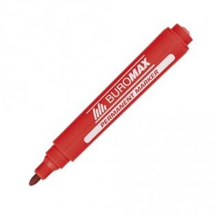 Купить Маркер перманент. круглый (2-4мм) красный BM.8700-05 по низким ценам
