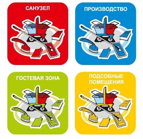 озтовары НАССР, стандарты НАССР, памятка НАССР, цветовая маркировка товара, НАССР на предприятии
